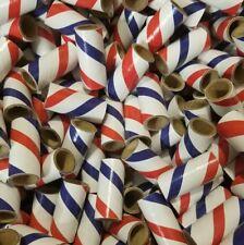 "50 M-80 Fireworks Kraft Paper Tube Firecrackers 9/16"" x 1.5"" x 1/16"""