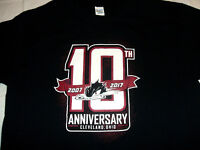 Lake Erie Monsters 2017 10th Anniversary XL T-Shirt Cleveland AHL Minor Hockey