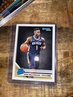 ZION WILLIAMSON 2019-20 DONRUSS RATED ROOKIE RC #201 BASE CARD PELICANS Psa 10 ?