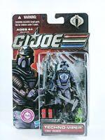 "GI JOE Cobra Pursuit of Cobra - Techno-Viper - NEW Sealed Action figure 3.75"""
