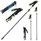 Telescopic 4 Section Adjustable Hiking Trekking Walking Pole Cane Stick Crutch