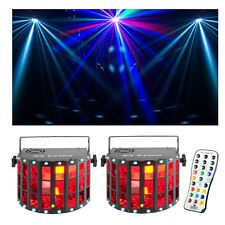 Chauvet DJ Kinta FX 3-in-1 LED Multi-effects Fixture 2-Pack w/IRC Remote New