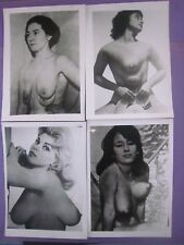 Vintage...7'' x 5'' in. PINUP PHOTOS..' Human Oddities ' ..Risque,Nude..Lot of 4