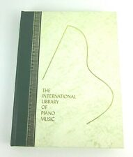 The international library of Piano Music Album 9 1967 Impressionist 20th R-W