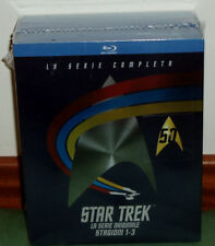 STAR TREK LAS SERIES ORIGINALES 1-3 TEMP.COMPLETAS 22 BLU RAY NUEVO CASTELLANO