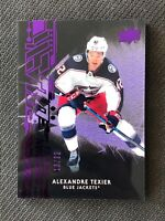 2019-20 UPPER DECK BLACK ALEXANDRE TEXIER OBSIDIAN ROOKIE PURPLE #ed 13/99