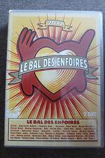 double DVD les enfoirés 2012 le bal TBE coluche