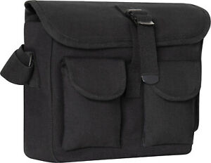 Cotton Canvas Army Shoulder Bag Multi Purpose Military Camo Tote Carry Courier