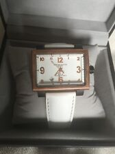 Montres De Luxe 16:9 estremo white rose gold Quartz Dial Watch new