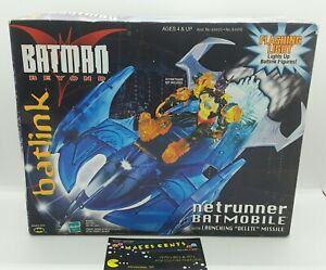 1999 Batman Beyond Batlink Netrunner Batmobile Hasbro Vintage Light Up - NEW!