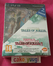 PACK TALES OF XILLIA + TALES OF XILLIA 2 SONY PS3 DAY ONE EDITION 100% ESPAGNOLE