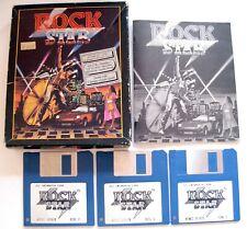 Very Rare : ROCK STAR ( I WANNA BE A ) ATARI ST 520 1040 / STF / STE jeu / game