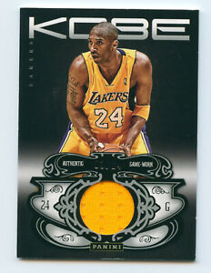 2012-13 Panini Kobe Anthology #42 Kobe Bryant Jersey Patch /24 LosAngeles Lakers