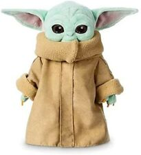 Disney Star Wars The Mandalorian The Child Baby Yoda 25cm Soft Plush Toy Doll