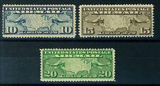 US Air Mail Stamps 1926-27 Scott # C7-9 - Mint NH Fine - Cat. Value $23.25 (S86)