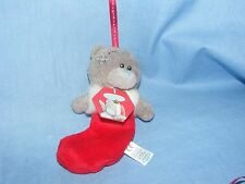 Me to You Bear Christmas Tree Decoration Bauble Plush Bear G01Q6522 Present Gift
