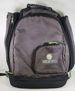 XBOX 360 Backpack Protective Backpack Bag, Black Gray & Green