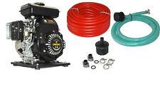 Benzinwasserpumpe mit Schläuche Motorpumpe Wasser Pumpe BW QDZ25-35 mit Schlauch