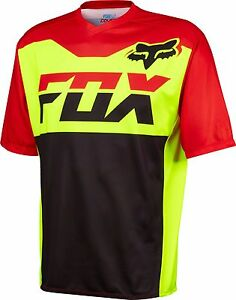 Fox Racing Covert s/s Jersey Flo Yellow