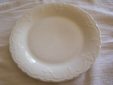 Tabletops Gallery Versailles Handmade White Embossed French Salad Plate Dish