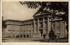 Winterthur Schweiz Zürich Ostschweiz AK 1926 Neues Museum gelaufen nach Hamburg