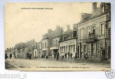 cpa. Guérigny-les-Forges. Nièvre . la grande pharmacie Normale