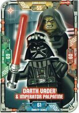Lego Star Wars™ Series 1 Trading Cards Card 149 Darth Vader & Imperator Palpa