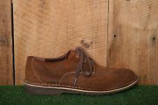 CLARKS Brown Suede Desert Shoes Oxfords Men's Sz. 9M