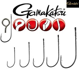 Hooks for CHEBURASHKA Gamakatsu Flexi Jig Heads Big Eye Jika Carolina Drop Shot