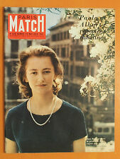 Paola & Albert, vacances romaines-Anne Frank-Paris Match N° 528 du 23/05/1959
