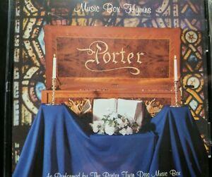 Porter Twin Disc Music Box: Music Box Hymns! Brand New CD!