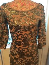 Monsoon Ally Mink Nude Dress Size 8 Bnwt Very Rare Posting Daily Holiday 9 May