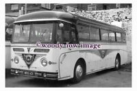 ab0057 - Black & White Coach Bus - WDG 631 to Ilfracombe - photograph 6x4