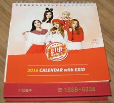 EXID TIBA CHICKEN OFFICIAL 2016 PHOTO DESK TABLE CALENDAR NEW