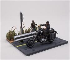 McFarlane Toys The Walking Dead Building Set Daryl Dixon w/ Motorcycle & Walker