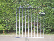 Wrought iron flat  top gate for 3 ft opening fully galvanized stands 3 ft tall
