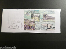 LUXEMBOURG, 2013, timbre VALLEE MOSELLE E 50 g, oblitéré, VF used STAMP TOURIST