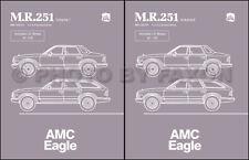 AMC Eagle Shop Manual 1984 1985 1986 1987 1988 Repair Service Book American