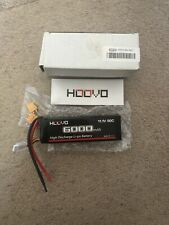 HOOVO 6000mAh High Discharge LiPo Battery Pack with Deans Plug 11.1V/60C - NEW!!