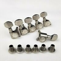 6 In Line Guitar Tuners Tuning Pegs Machine Heads for FD Strat Electric Guitar