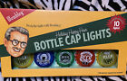 NEW Wembley (10) Bottle Cap Beer Theme - String of Lights - Battery Operated