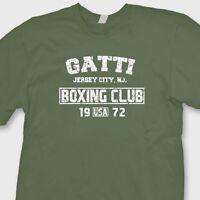 GATTI Boxing Club Vintage Arturo T-shirt MMA Fighting Gym Tee Shirt