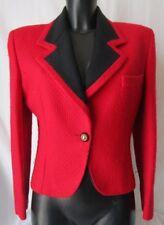 CAMILLA NASI GIACCA Jacket TG.42 Tonalità Rosso 100% Lana  #S