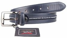 "Paul & Shark Yachting cinturón de cuero Belt Leather 110 43"" The Admiral's Collection"