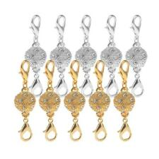10 Sets Magnetic Jewelry Lobster Clasps Gold & Silver Tone Necklace Bracelet
