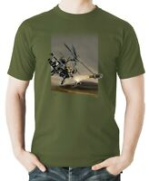Flyingraphics aviation themed T Shirt 'Boeing AH-64 Apache' by Peter van Stigt