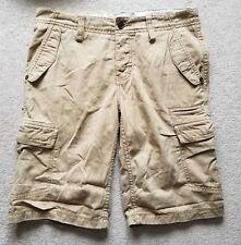 Esprit Pantalones cortos estilo cargo de combate de color beige Nº 30 UK 29