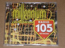 105 MILLENNIUM COMPILATION (DAVID BOWIE, DEPECHE MODE,DURAN DURAN, OASIS) - 2 CD