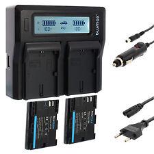 2x batería para Canon lp-e6 + dual cargador Charger para Canon lp-e6 (n) | 65061 | 90329