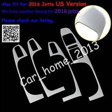 Stainless Interior Door Armrest Cover Trim For VW JETTA MK6 2012-2014&US 2016